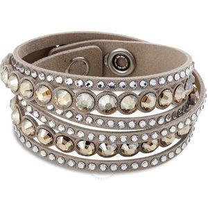 ✨🌟Swarovski Slake Beige Dot Bracelet 🌟✨